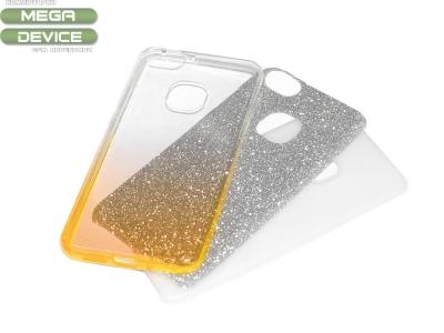 Силиконов гръб BLING за Huawei P10 Lite, Златист