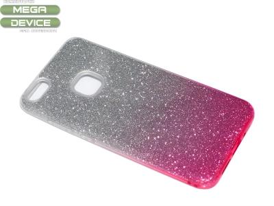 Силиконов гръб BLING за Huawei P10 Lite, Розов