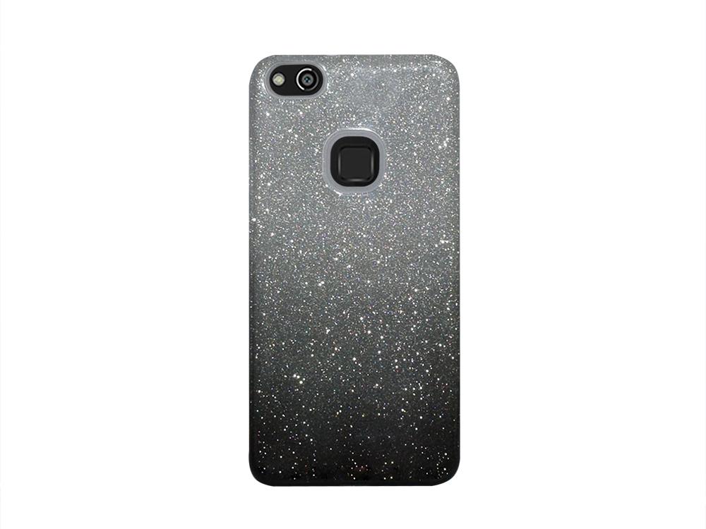 Силиконов гръб BLING за Huawei P10 Lite, Черен