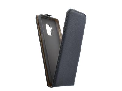 Калъф Slim Flexy за Samsung Galaxy A5 2018 / A8 2018 A530, Графит