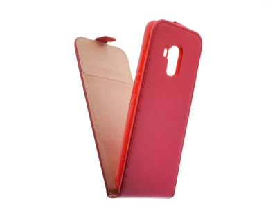 Калъф Slim Flexy за Samsung Galaxy A5 2018 / A8 2018 A530, Червен