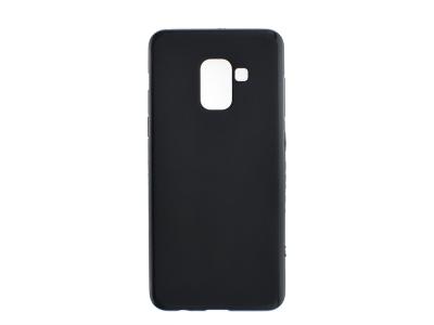 Силиконов калъф Matt за Samsung Galaxy A5 2018 / A8 2018 A530 , Черен