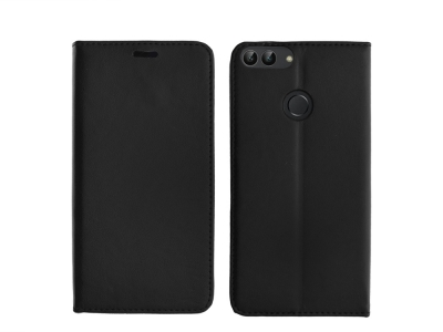 Калъф Тефтер Magnetic за Huawei P Smart / Enjoy 7s , Черен
