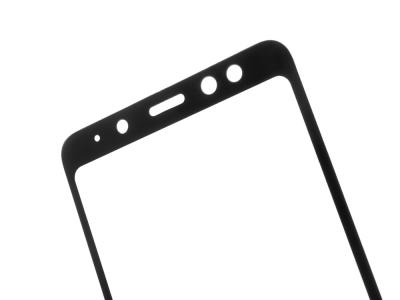 Стъклен протектор 3D Full Curved за Samsung Galaxy A8 2018 (A530F), Черен