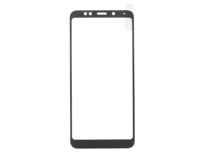 Стъклен Протектор Full за Xiaomi Redmi Note 5 / Redmi 5 Plus, Черен