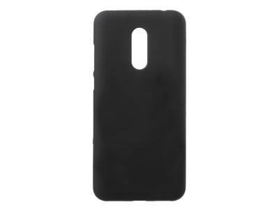 Силиконов гръб Matte за Xiaomi Redmi Note 5 / Redmi 5 Plus, Черен