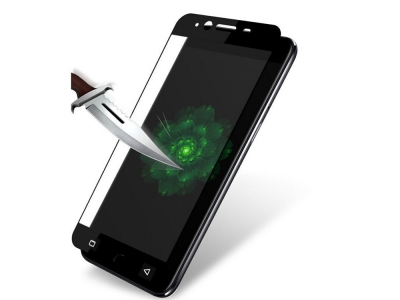 Стъклен протектор Full за Nokia 6 2017, Черен