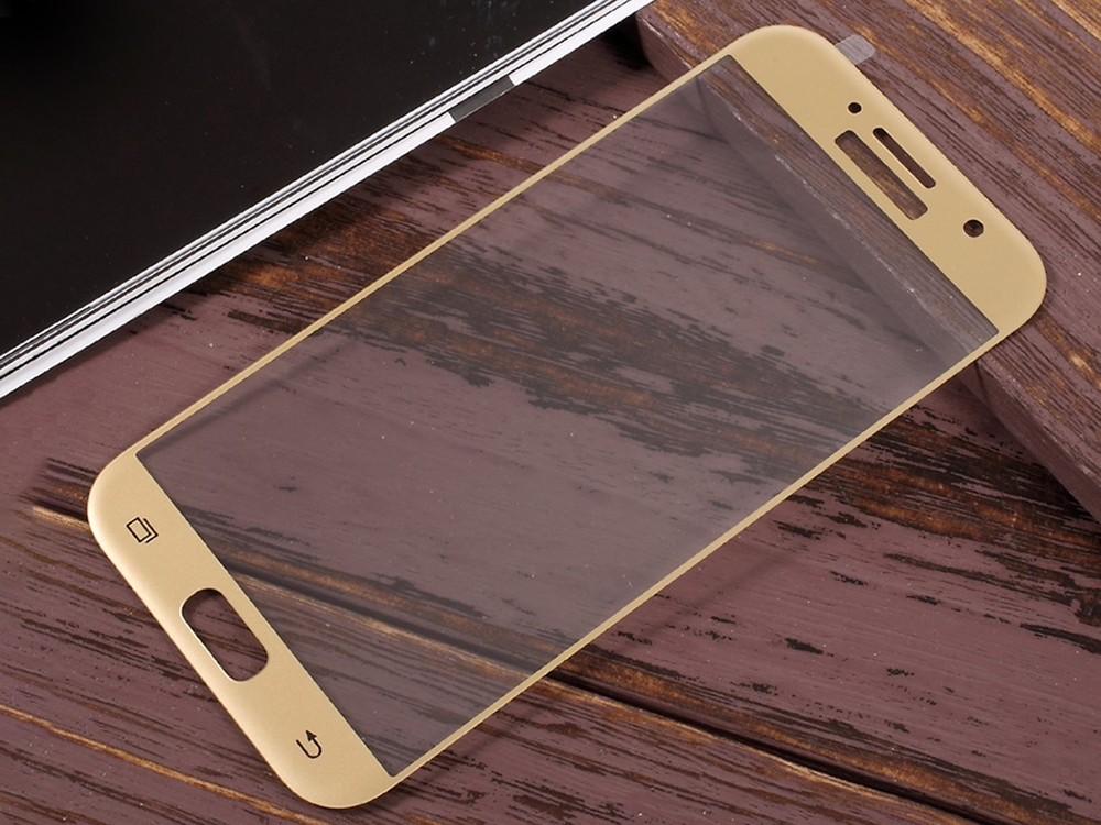 Стъклен протектор Full за Samsung Galaxy A5 2017 A520, Златист