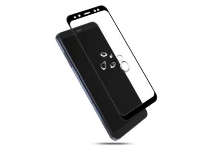 Стъклен Протектор IMAK Full за Samsung Galaxy A5 2018 / A8 2018, Черен