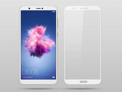Стъклен Протектор IMAK Full за Huawei P Smart / Enjoy 7S, Бял