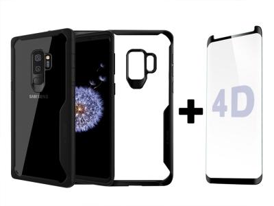 Удароустойчив Калъф X-ONE DROPGUARD + Стъклен протектор Full Face 4D за Samsung Galaxy S9 2018