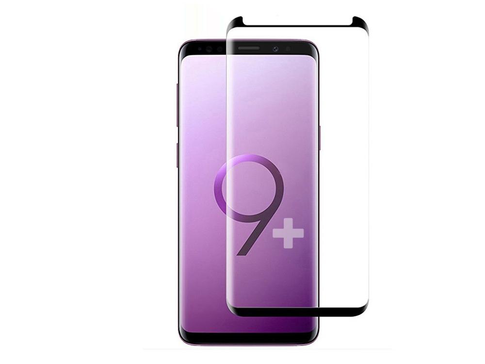 Стъклен Протектор 5D Edge Glue - Samsung Galaxy S9 Plus - Black