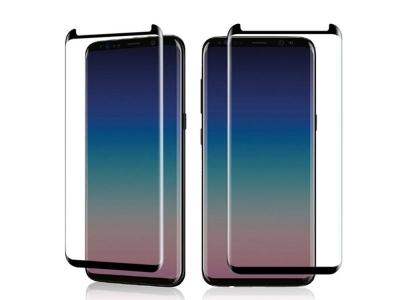 Стъклен Протектор 5D Curved за Samsung Galaxy S9 Plus 2018, Черен