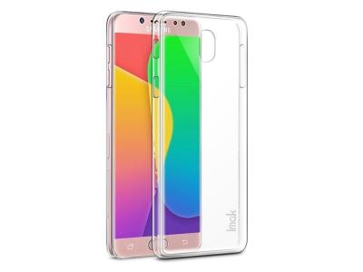 Пластмасов гръб IMAK за Samsung Galaxy J7 2017 J730, Прозрачен