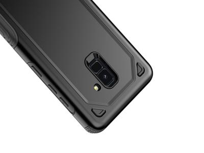 Удароустойчив гръб Armor за Samsung Galaxy A5 2018 / A8 2018 A530, Черен