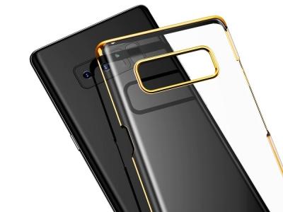 Пластмасов гръб BASEUS за Samsung Galaxy Note 8 2017 N950, Златист