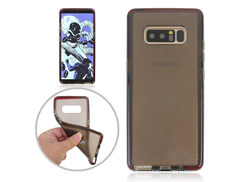 Силиконов Гръб Basketball за Samsung Galaxy Note 8 2017 N950, Черен