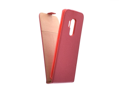 Калъф тефтер Slim Flexy за Samsung Galaxy S9 Plus 2018 (G965), Червен