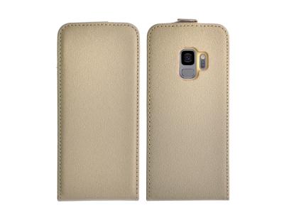 Калъф тефтер Slim Flexy за Samsung Galaxy S9 2018 (G960), Златист