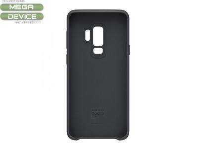 Оригинален силиконов гръб за Samsung Galaxy S9 Plus 2018 (G965) (ef-pq965tbr), Черен