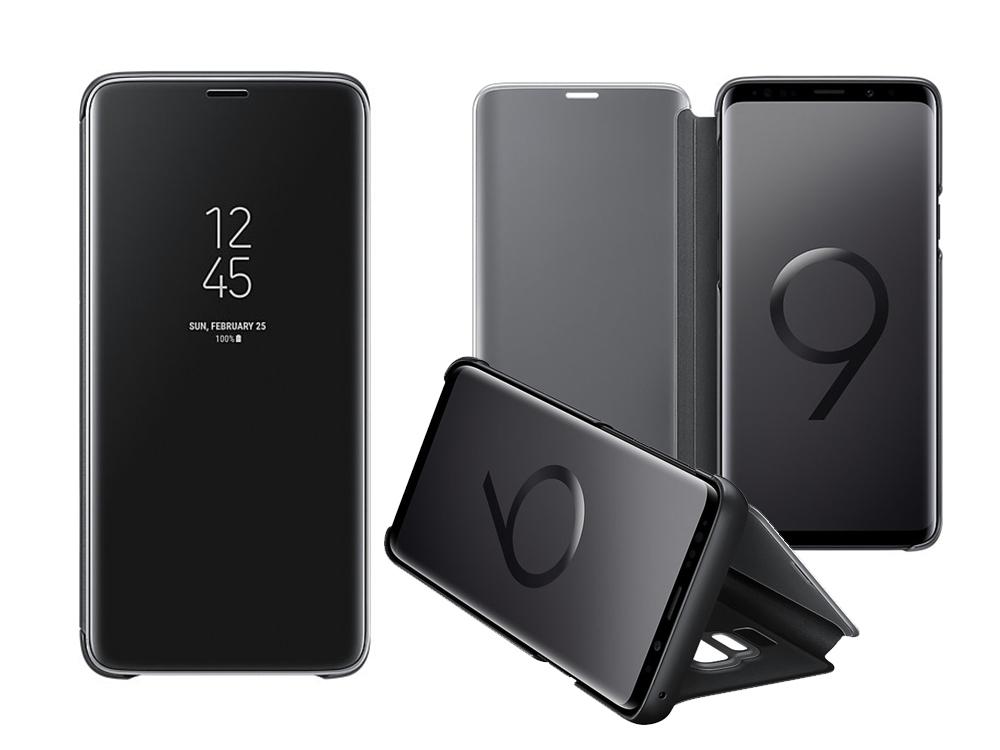 Оригинален тефтер за Samsung Galaxy S9 Plus 2018 (G965) (ef-zq965cbe), Черен