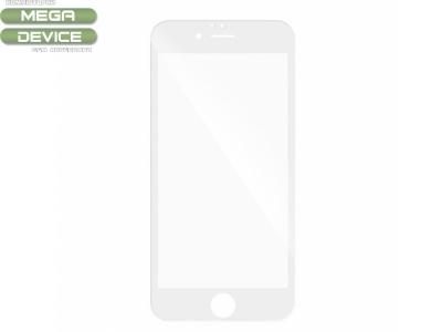 Стъклен протектор 3D Full Curved IPhone 7 Plus/  IPhone 8 Plus, Бял