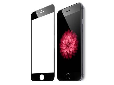 Стъклен протектор 3D Full Curved за IPhone 6 / 6S, Черен