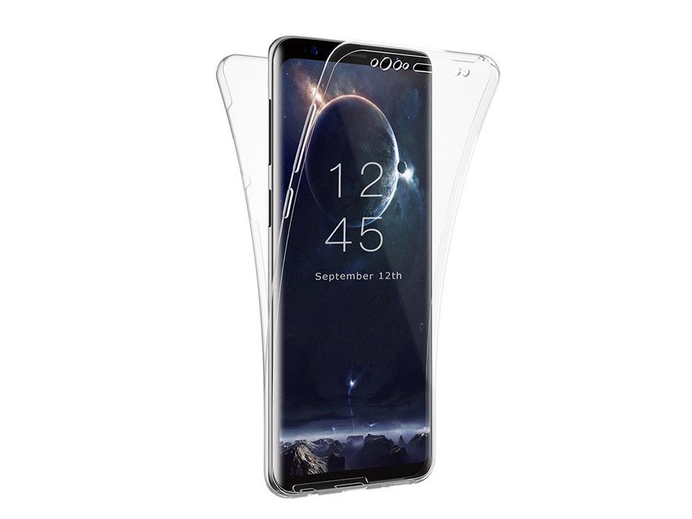 360 Силиконов Калъф за Samsung Galaxy S9 Plus, Прозрачен