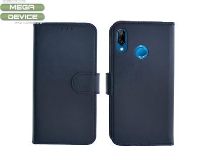 Калъф Тефтер Twin за Huawei P20 Lite, Син