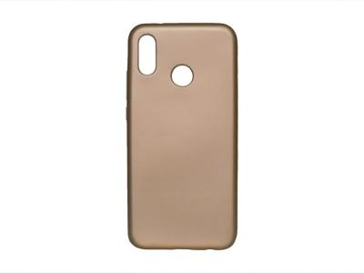 Силиконов Гръб Jelly Case Flash Mat за Huawei P20 Lite , Златист