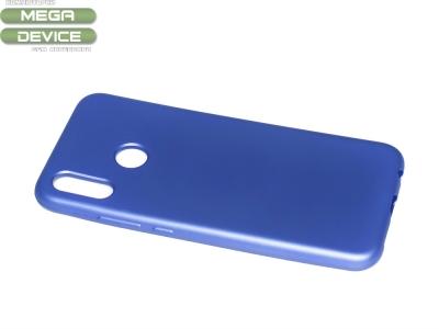 Силиконов Гръб Jelly Case Flash Mat за Huawei P20 Lite , Син