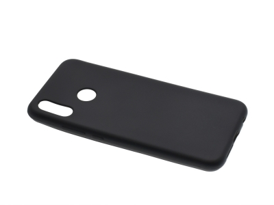 Силиконов Гръб Jelly Case Flash Mat за Huawei P20 Lite, Черен