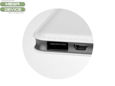 Power Bank DP633 Slim 12000mAh , Бял