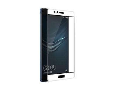 Стъклен протектор 5D Full Curved за Huawei P10 Lite , Бял