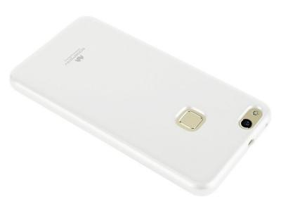 Силиконов Гръб Jelly Mercury за HUAWEI P10 Lite, Бял