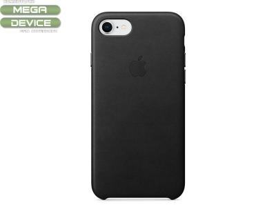 Оригинален Гръб Кожа (MQH92ZM/A) за iPhone 7 / 8 , Черен