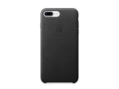 Оригинален Гръб Кожа (MMYJ2ZM/A) за iPhone 7 Plus / 8 Plus , Черен