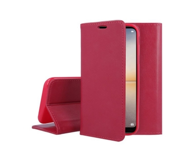 Калъф Тефтер Magnetic Book Case - Huawei P20 Lite Pink