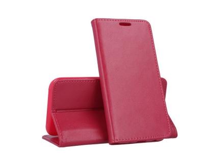 Калъф Тефтер Magnetic за Huawei P20 Lite , Тъмно розов