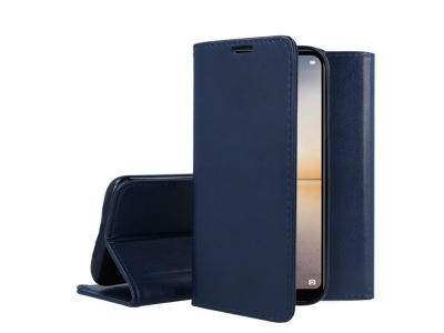 Калъф Тефтер Magnetic за Huawei P20 Lite, Син