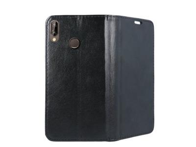 Калъф Тефтер Magnetic за Huawei P20 Lite, Черен