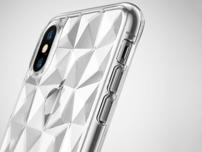 Силиконов гръб PRISM за iPhone X , Прозрачен