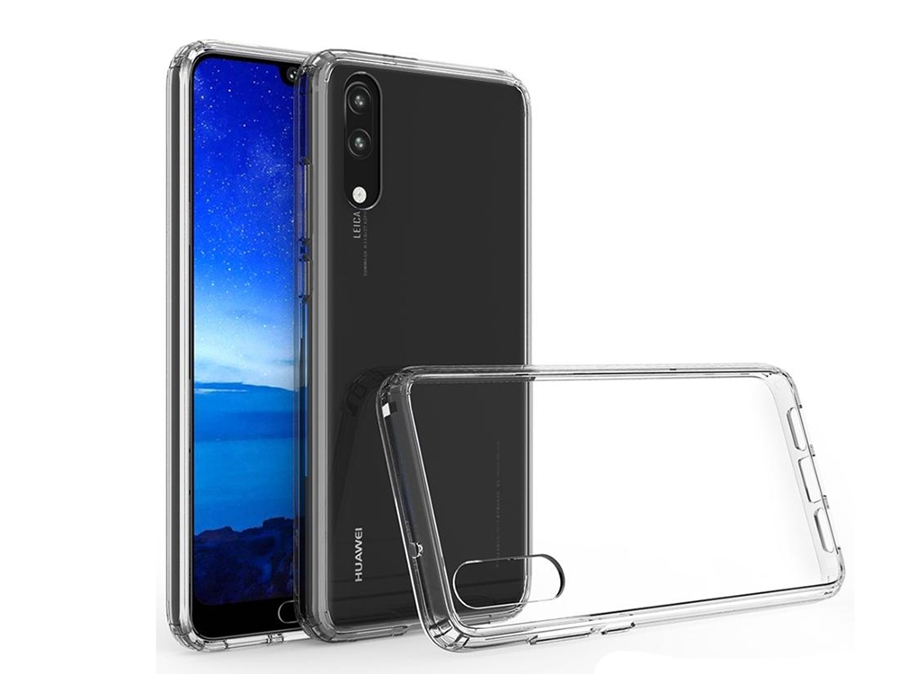Силиконов гръб за Huawei P20 Pro , Прозрачен