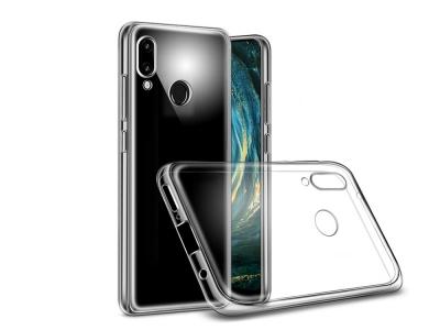 Силиконов гръб за Huawei P20 Lite, Прозрачен