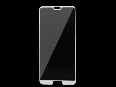 Стъклен Протектор 5D Curved Roar за Huawei P20 Pro, Бял
