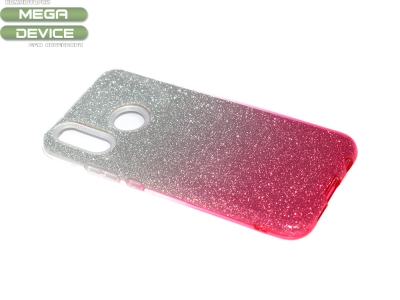 Силиконов Гръб SHINING за Huawei P20 Lite, Сребрист/ Розов