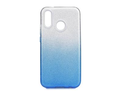 Калъф Гръб SHINING - Huawei P20 Lite Silver Blue
