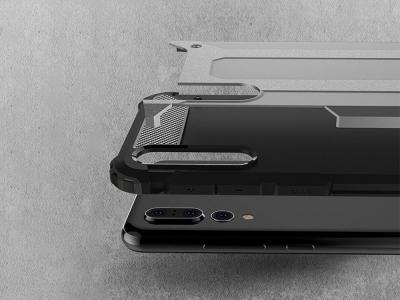 Удароустойчив гръб Armor за Huawei P20 Pro, Сив