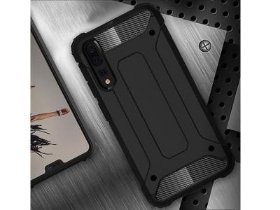 Удароустойчив  гръб Armor за Huawei P20 Pro, Черен