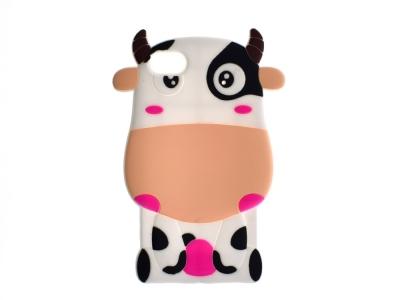 Силиконов Гръб 3D COW за Iphone 5 / 5s / SE
